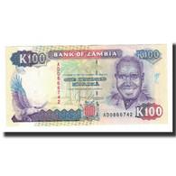 Zambie, 100 Kwacha, Undated (1991), KM:34a, NEUF - Zambie