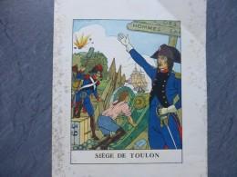 Napoléon, Illustrateur Albert Uriet 1942, Gravure Originale Siège De TOULON ; Ref 935 G 25 - Estampes & Gravures