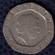 Royaume Uni 2000 Pièce De Monnaie Coin 20 Twenty Pence - 1971-… : Monnaies Décimales