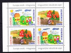 Europa Cept 2006 Romania M/s ** Mnh (36844) - 2006
