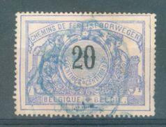 "BELGIE - OBP Nr TR 17 - Cachet Bleu   ""TERNEUZEN"" - Scheur/fente - (ref. 15.527) - 1895-1913"