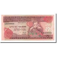 Éthiopie, 10 Birr, L.EE1969 (1991), KM:43a, SPL+ - Ethiopie