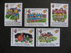 Comores:  TB Série N° 332 Au N°336, Neufs XX. GT. - Comores (1975-...)