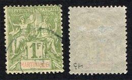 Colonie Française, Martinique N°43 Oblitéré, Qualité Beau++ - Martinique (1886-1947)