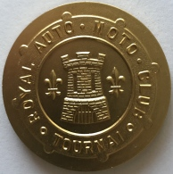 Médaille. Royal Auto Moto Club Tournai. 24-08-80.  50 Mm - Belgique