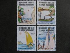 Comores:  TB Série N° 362 Au N°365, Neufs XX. GT. - Comores (1975-...)