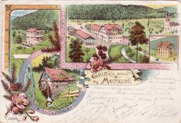 Gruss Aus Marxzell 1898 - Karlsruhe