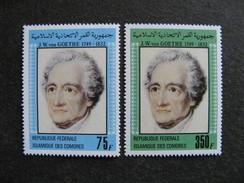 Comores:  TB Paire N° 366 Et N°367, Neufs XX. - Comores (1975-...)