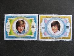 Comores:  TB Paire N° 368 Et N°369, Neufs XX. - Comores (1975-...)