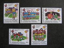Comores:  TB Série N° 373 Au N°377, Neufs XX. - Comores (1975-...)