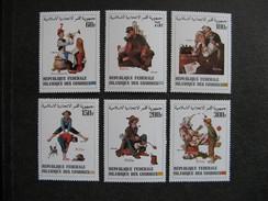 Comores:  Série N° 378 Au N°383, Neufs XX. - Comores (1975-...)