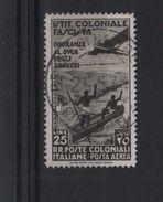 1934 Colonie Emissioni Generali Duca Abruzzi 25 L. Bruno Nero US +++ - Emissioni Generali