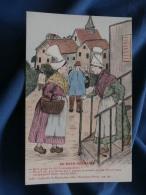 Illustration  Au Pays Normand   Femmes  Coll. Bunel 2105 Vimoutiers  - L328 - Vimoutiers
