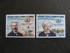 Comores:  TB Paire N° 416 Et N°417, Neufs XX. - Comores (1975-...)