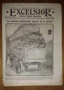 Excelsior N°1751 Du 01/09/1915 Les Glorieux Garibaldiens - Pégoud Est Mort (aviateur) - Revue Du Moulin Rouge - Journaux - Quotidiens