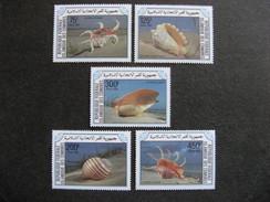 Comores:  TB Série N° 421 Au N°425, Neufs XX. - Comores (1975-...)
