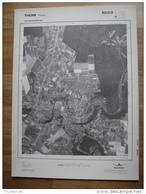 GRAND PHOTO VUE AERIENNE 66 Cm X 48 Cm De 1979  THUIN THUIN - Cartes Topographiques
