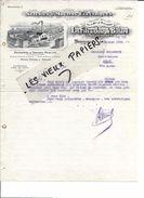 25 - Doubs - MORTEAU - Facture BILLARD - Scierie - Travaux Publics Et Particuliers - 1912 - REF 76B - 1900 – 1949