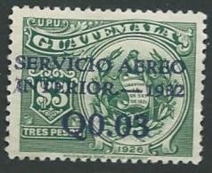 Guatemala  - Aérien - Yvert N° 20 (*)   - Ai25509 - Guatemala
