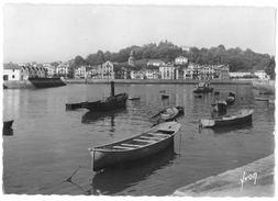 CPSM CIBOURE - Le Port - Ed. YVON N°I.B. 1288 - Ciboure