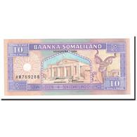 Somaliland, 10 Shillings = 10 Shilin, 1996, KM:2b, NEUF - Somalie
