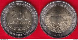 Timor - Leste 200 Centavos 2017 BiMetallic UNC - Timor