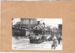 NORD PAS DE CALAIS - Grève Des Cheminots Du Nord En 1910 - Départ Du  Dernier Rapide - POIT - - Nord-Pas-de-Calais