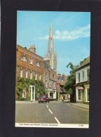 72578    Regno  Unito,    Vine Street And  Parish Church,  Grantham,  VG  1974 - Inghilterra
