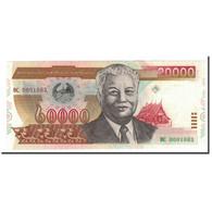 Lao, 20,000 Kip, 2002, KM:36a, SPL+ - Laos