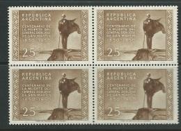 Argentine - Yvert N° 505 ** Bloc De 4 -  Ai25606 - Argentina