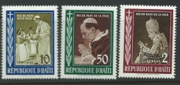 Haiti - Série    Yvert N°  410 à 411 , 3 Valeurs **  -  Ai25707 - Haiti