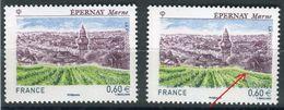 France - Variété - N°Yvert 4645, Chemin Vert à Droite + 1 Normal Blanc , Neufs Luxe - Ref V151 - Errors & Oddities