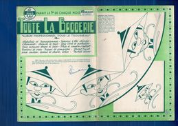 """1960 Album De 20 Pages """"TOUTE LA BRODERIE """" En TBE - Loisirs Créatifs"""