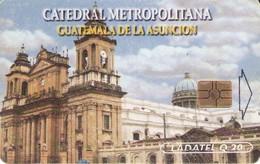 TARJETA TELEFONICA DE GUATEMALA. (240) - Guatemala