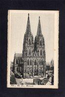 72588    Germania,    Koln A. Rh.,  Dom,   Westseite,  NV - Koeln