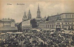 LIBAU - Marktplatz. - Lettonie