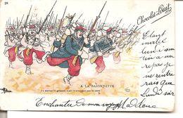 A LA BAIONNETTE - Guerra 1914-18