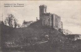 10996-PAVULLO NEL FRIGNANO(MODENA)-IL CASTELLO DI MONTECUCCOLO-1920-FP - Castelli