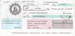 CAMBIALE - CON MARCA DA BOLLO ELETTRONICA EURO.  6,00 E FRANCOBOLLO. EURO. O,10 - Cambiali