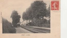 -  CPA - 03 - URCAY - La Gare -   075 - France
