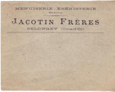 21 Selongey.Enveloppe Commerciale JACOTIN Frères à Selongey état Neuf. - 1900 – 1949
