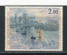 MONACO - Y&T N° 969** - Claude Monet - Impression, Soleil Levant - Nuevos