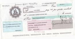 CAMBIALE - CON MARCA DA BOLLO ELETTRONICA EURO.  6,00 E FRANCOBOLLO. EURO. 0,10 - Cambiali