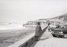 1969 HUMBER AUSTIN MIDGET PRAIA GRANDE SINTRA PORTUGAL 35mm  AMATEUR NEGATIVE NOT PHOTO NEGATIVO NO FOTO - Fotografia