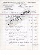 88 - Vosges - LE THILLOT - Facture VANNSON - Ferblanterie, Plomberie, Chauffage - 1930 - REF 76D - 1900 – 1949