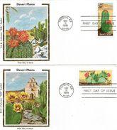 USA 1981 FDC Desert Cactus - Briefe U. Dokumente