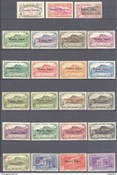 Reunion: Yvert N° 187/232**; MNH; Cote 70.00€ Les 188/189 Gomme Tropicale Les 206-220* Le 213 Adherence - Neufs