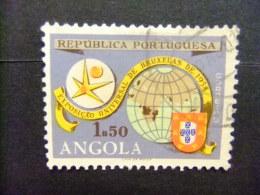 ANGOLA 1958 EXPO BRUXELLES Yvert N 406 FU - Angola