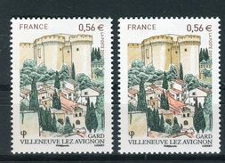France - Variété - N°Yvert 4442 1 Rouge Pâle + 1 Normal , Neufs Luxe  - Ref V175 - Errors & Oddities
