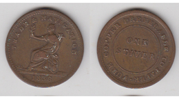 1838 STIVER BRITSH GUINEA ~ COLONIAL JETON ~ COMMERCE ET NAVIGATION - United Kingdom